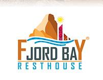 Fjord Bay-Rest house / logo design