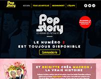 Pop Story - Website