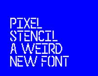 Pixel Stencil Type
