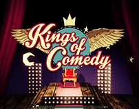Kings of Comedy Title Design