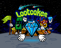 Lootcakes brand mascot characters