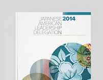 JALD / Japanese American Leadership Delegation brochure