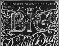 The Independent Boxing Day Magazine Cover