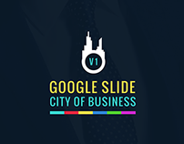 Google slide template city of business