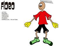 """Fídeo""_My cartoon Character"