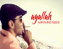 Agallah - Wants & Needs - Single Cover Design