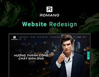Romano | Desktop and Mobile Website