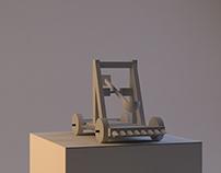 Catapult 3D Modelling