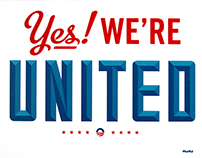 Yes We're United.