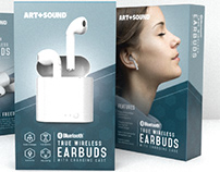 Art+Sound Packaging