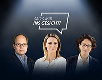 Facebook Live campaign against hate speech –Tagesschau