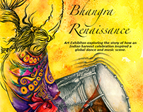 "'BHANGRA RENAISSANCE""-International group show in UK"