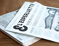 L'ESPERLUETTE - La gazette du graphisme