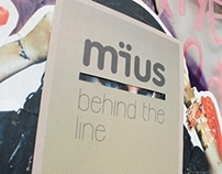 Mius Behind the line poster