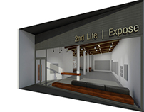 Art Gallery & Material Store | 2nd Life & Expose