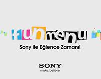 FunMenu // SONY