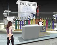 Burton  SKI show exhibit