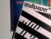 WALLPAPER MAGAZINE - study & restyle