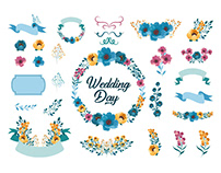 FREE WEDDING VECTOR ELEMENTS