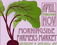 Advertisement for Morningside Farmer's Market