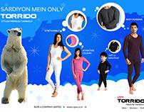 Rupa Torrido Newspaper Half page Ad