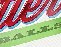 LGM - Gutter Balls - Word Logo