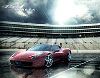 Ferrari 458 Italia (illustration)
