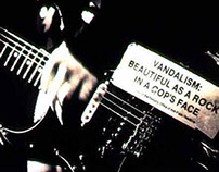 Fender - Squier Stratocaster a.k.a. Vandalism Strat