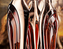 Saint, Luxury cognac bottle concept