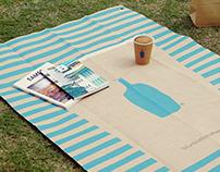 Picnic Mat Design | Blue Bottle Coffee Japan