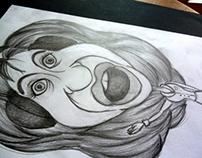 Caricatura Cristina Fernandez