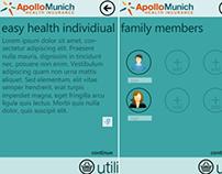 Mobile Application for Apollo Munich