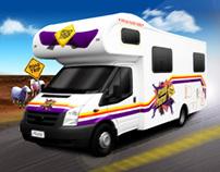 ABC Prank Patrol Racing Game