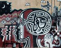 Albuquerque Mural - 1998