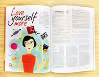 Article Illustration on Working Mother Magazine