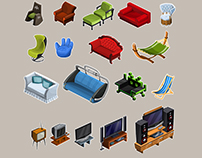 Social Game Assets & Icons