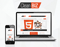 CleanBIZ - Multipurpose HTML5 Theme