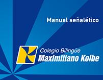 Manual señalético - Colegio Maximiliano Kolbe