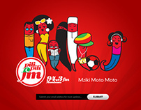 Pilipili Fm Website Design