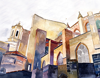 architectural watercolors vol 6