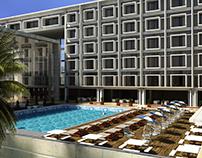 Hotel Exterior, Nigeria