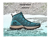 Salomon Trail Hike Concept