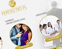 el perfectio / logo + www /
