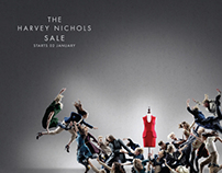 Harvey Nichols - Fight - Sale Campaign 2012