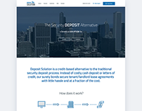 Web Design - Deposit Solution