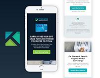 Email Marketing Design & Development - Titan WMS