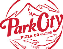Park City Pizza Co. Logo Redesign
