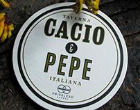 Cacio e Pepe: restaurant branding