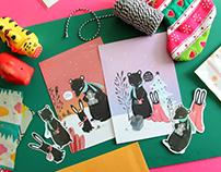 Christmas Postcards 2016