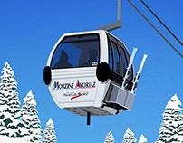 Morzine Ski Resort Poster